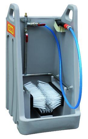 Do oczyszczania, dezynfekcji do obuwia, rękawic - do chlewni, obór