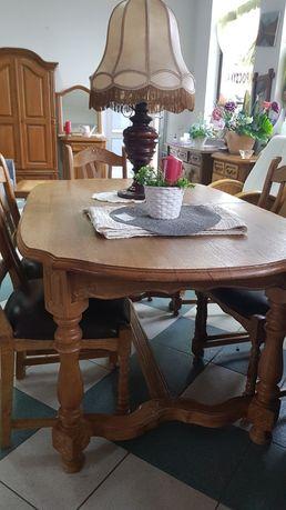 Stół dębowy 100% rozkładany