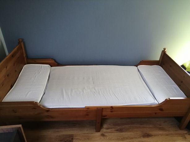 Łóżko młodzieżowe regulowane