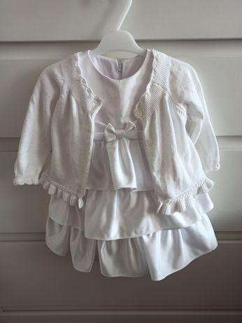 Ubranko do chrztu dla dziewczynki rozmiar 62