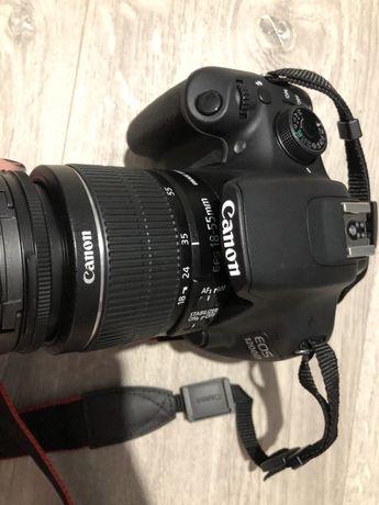 Срочно продам зеркальный фотоаппарат Canon EOS 1200D kit 18-55