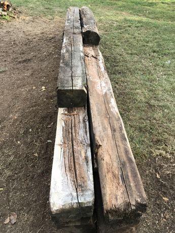 REZERWACJA Stare belki, kantówki, drewno, masywne - sosna