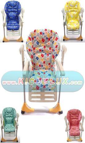 Чехол на стульчик для кормления Chicco polly 2в1 чикко