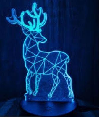 3D нічники лампи для домашнього затишку