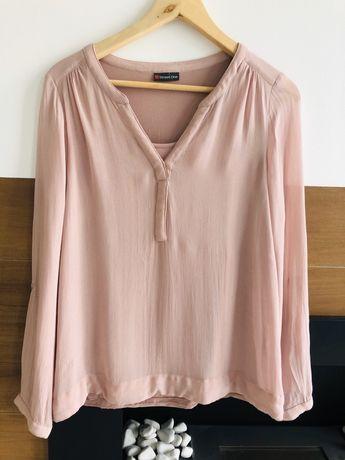 Street one pudrowa bluzka koszula S m różowa