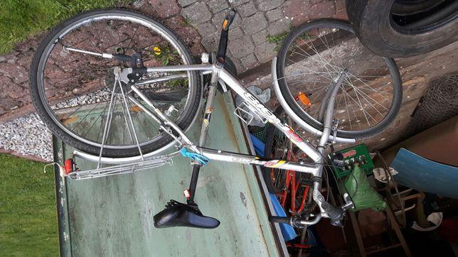 Rower aluminiowy
