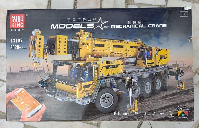 Lego Mecânico Mould King Models - Grua Mecânica