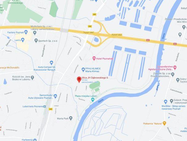 Kwatery pracownicze, Luboń, Poznań A2, także małe pokoje, rachunek
