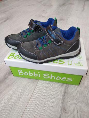 Шкіряні кросівки напівчеревики Bobbi Shoes 28 розмір