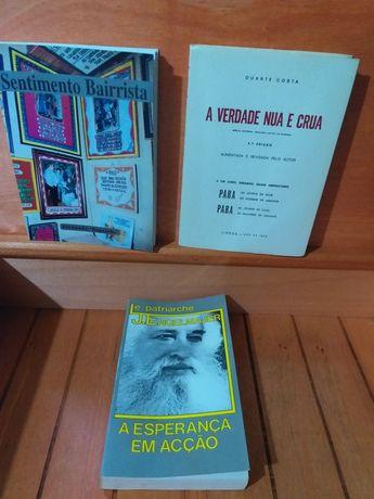 Livros antigos em bom estado