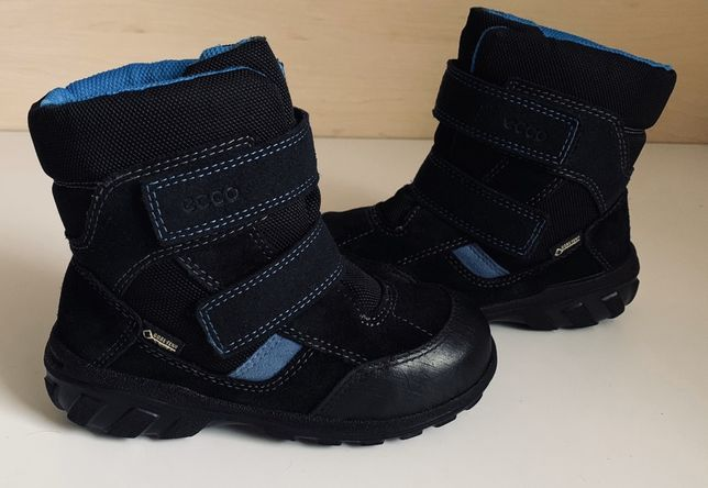 Зимние сапоги , ботинки Ecco с мембраной Gore-tex р.27(17см )Оригинал!
