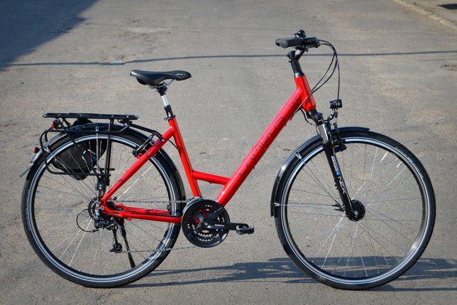 Nietrafiony prezent NOWY rower trekkingowy CAMPUS TR6 Deore Nexus LED