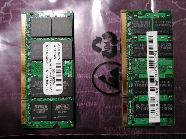 Pamięć RAM DDR 2 2GB(2x1GB)