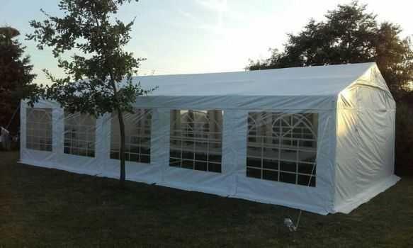 Namiot imprezowy, wesele w namiocie, na świeżym powietrzu, wyposażenie