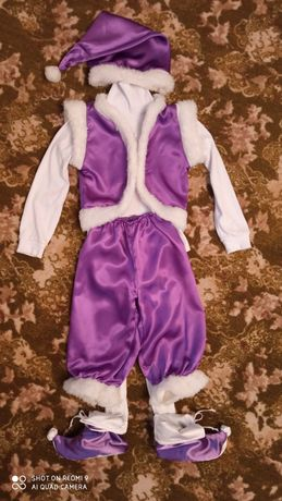 Новогодний костюм гнома, гномика или же морозко, морозенко. Прокат