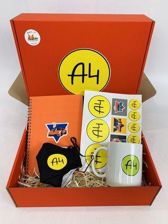 Подарочный бокс А4 Набор Влад Бумага ( А 4) чашка маска блокнот