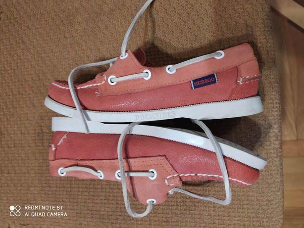 Туфли-мокасины женские SEBAGO 22.5см.