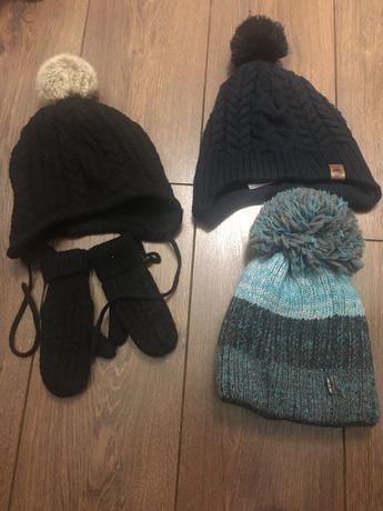 Czapka/czapki zimowe r.86/92/104 h&m