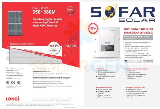 Fotowoltaika, elektrownia słoneczna /6kW/ montaż - od SOLARGEN