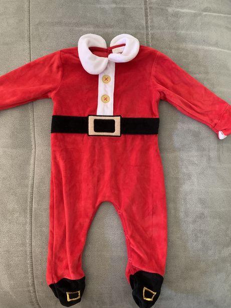 2 Pijamas de natal bebé 3 meses