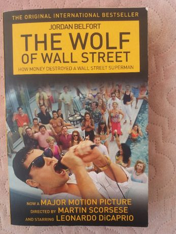 The Wolf Of Wall Street english book - Wilk z Wall Street po angielsku