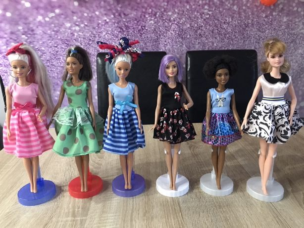 Sukienka ubranka dla lalki barbie