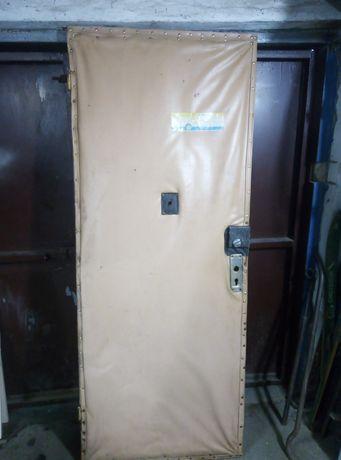 Дверь входная, межкомнатная.