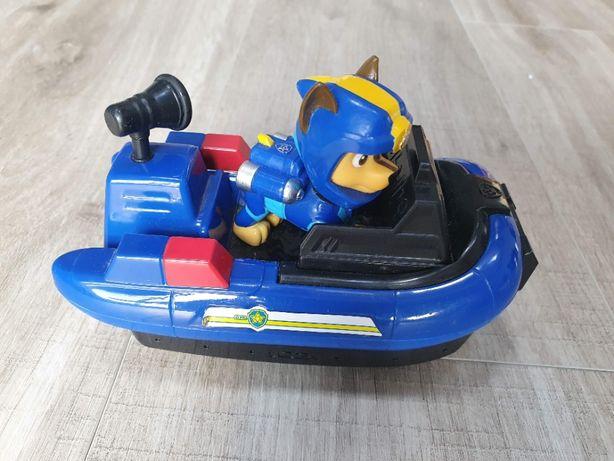 Psi Patrol Chase Sea motorówka łódka figurka