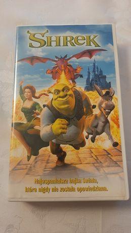 Shrek kaseta vhs