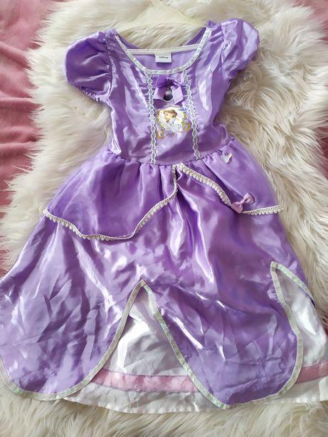 Księża zosia stroj przebranie sukienka 3-4 lata