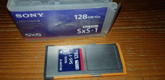 Отличная карта памяти для профессиональных камер Sony sxs-128 gb