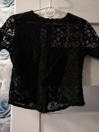 Przezroczysta koronkowa bluzka Asos