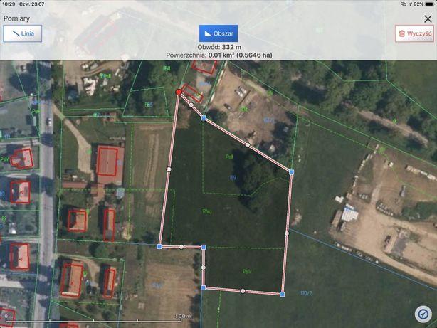 Atrakcyjna działka z warunkami zabudowy, Ukta, 200m od Krutyni