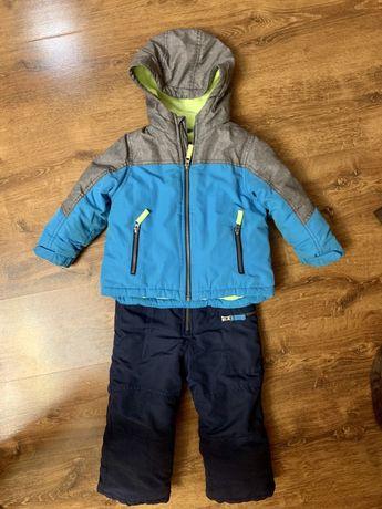 Зимний комбинезон (полукомбинезон) с курткой Carters 3T. В идеале!