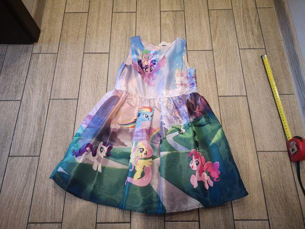 Sukienka My Little Pony, Hasbro, H&M roz.5-6 lat(110-116cm)
