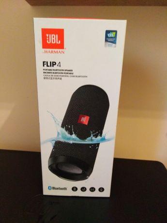Głośnik Jbl Flip 4 czarny. - gwarancja, prawie nieużywany