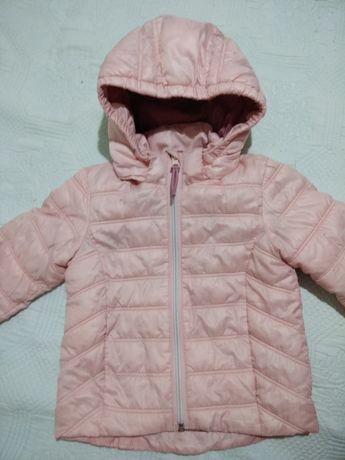 Куртка на дівчинку