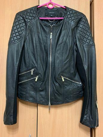 Продам стильную кожаную куртку бренда Karen Millen