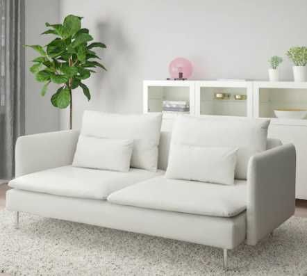 Sofa 3-osobowa, Finnsta biały SÖDERHAMN