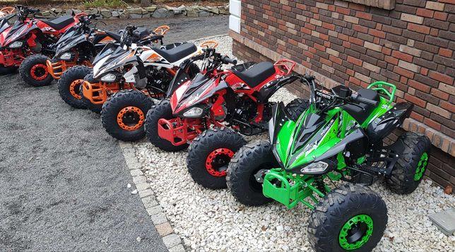 Quad 125cc atv RATY  kxd raptor 110 14km Nowy Duży kład XXL xtr apollo