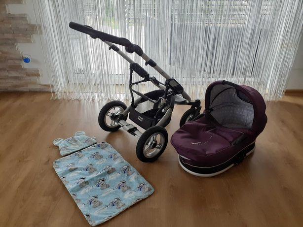 Wózek głęboki espiro GTX Premium baby line
