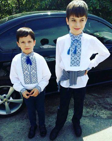 Вышиванка рубашка с вышивкой на мальчика