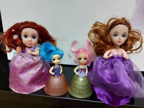 Куклы кекс, ароматные капкейки, цена за 4 шт