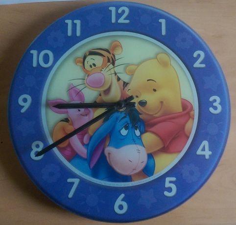 Zegar ścienny dziecięcy Kubuś Puchatek