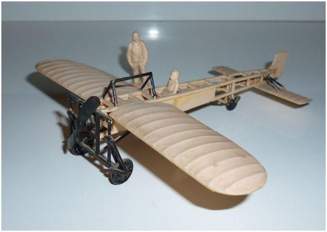 Собранная модель самолета БЛЕРИО-XI / BLERIOT-XI.