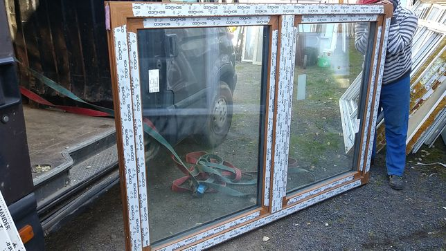 okno pcv 204/141 obustronna sosna