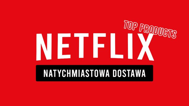NETFLIX 30 DNI TV/PC/PS/XBOX - HBO GO i Spotify - BLIK płatności