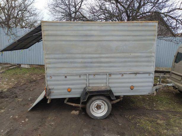 Прицеп фургон легковой 2.50 дл- 1.5 шр