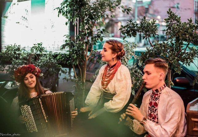 Музыканты на Масленицу,фольклор,етно,жива музика, FOLK,вокал,бандура