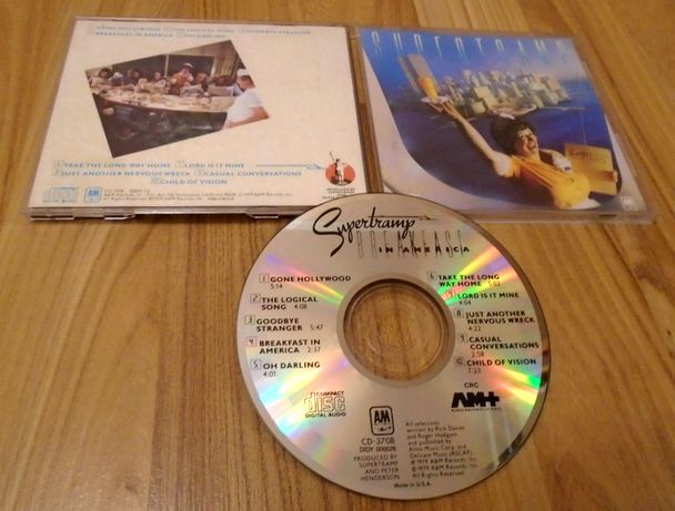 SUPERTRAMP – Breakfast In America [фирменный CD, USA, ранний пресс]